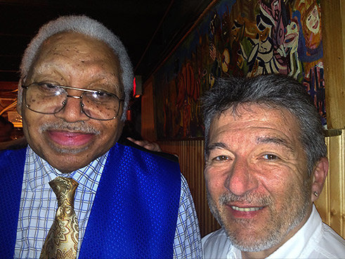 Rodrigo Sáenz With Ellis Marsalis in New Orleans
